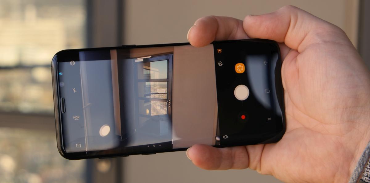 Câmera do Samsung Galaxy S8 Plus