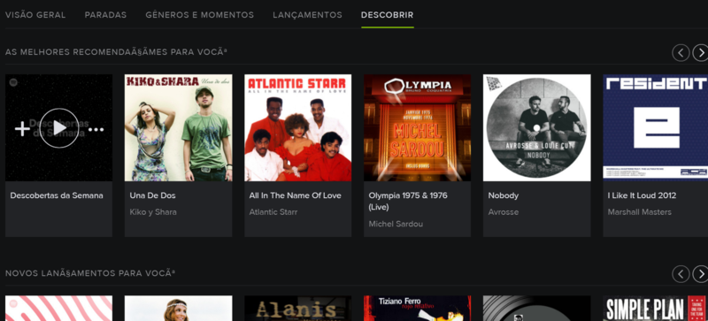 Descobrir do Spotify