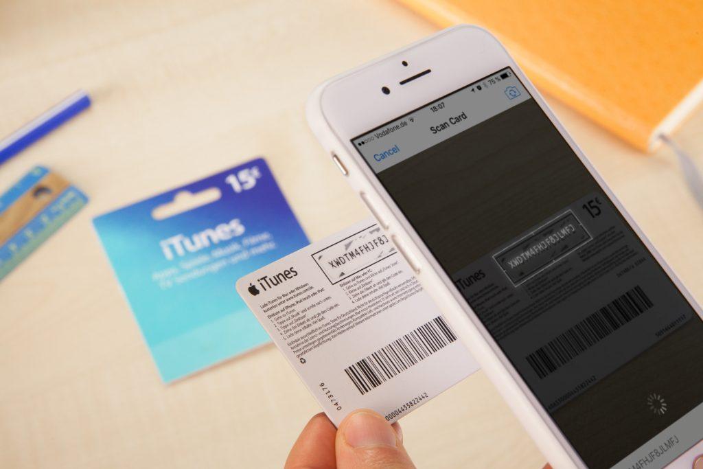 card de promoção da Apple